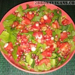 Rocket Pomegranate Salad
