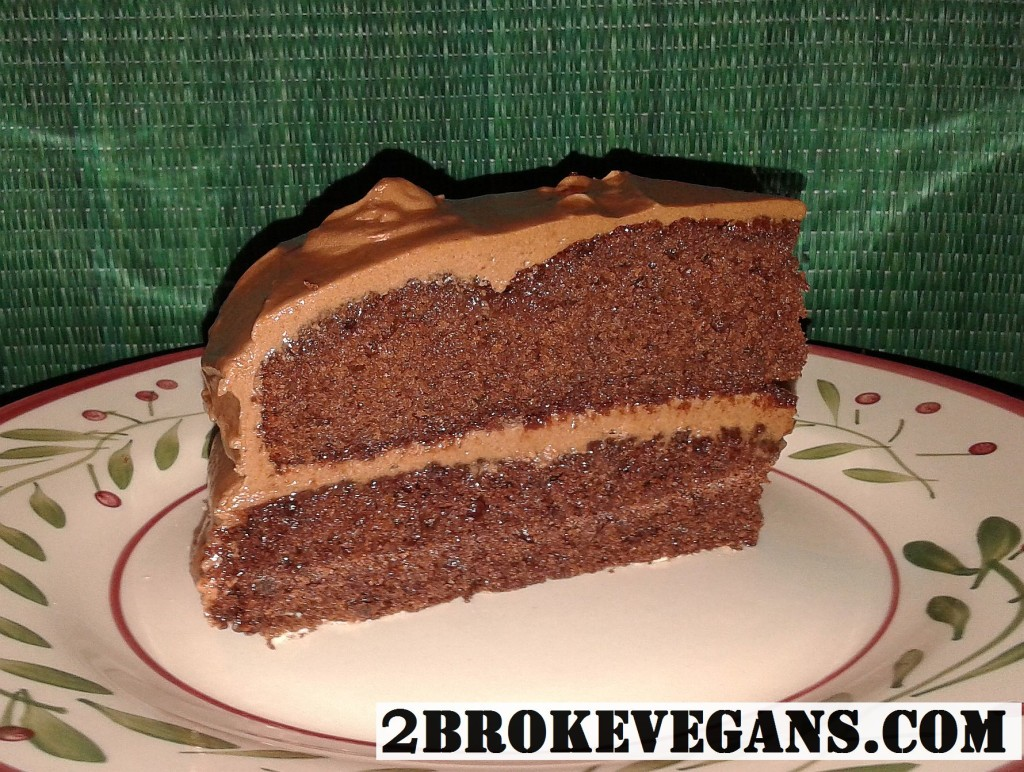 vegan and gluten-free chocolate cake