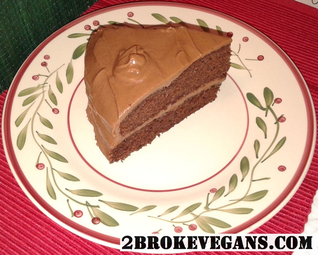 gluten free vegan chocolate layered cake
