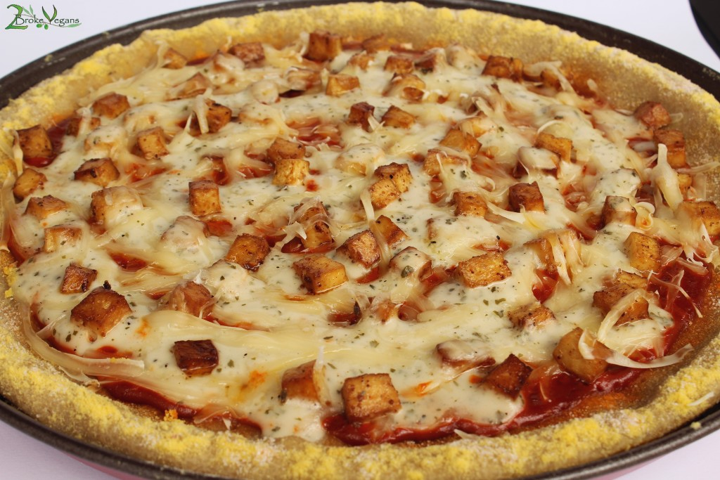 Gluten Free Vegan Buffalo Chicken Pizza Recipe