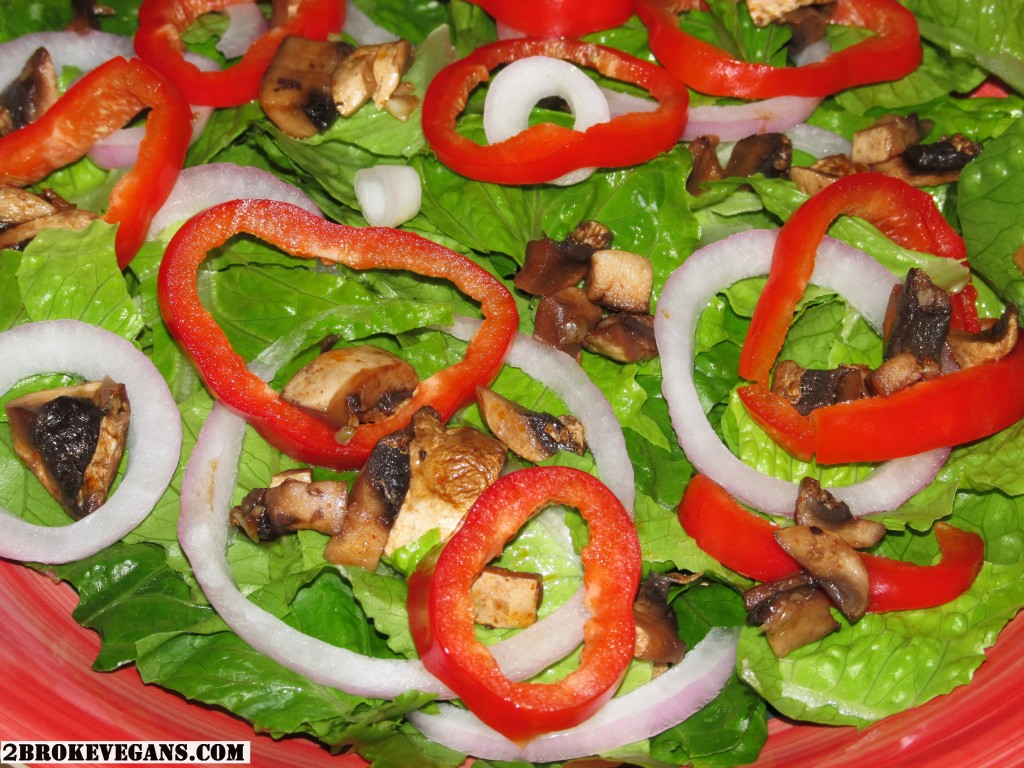 Ring Of Fire Salad