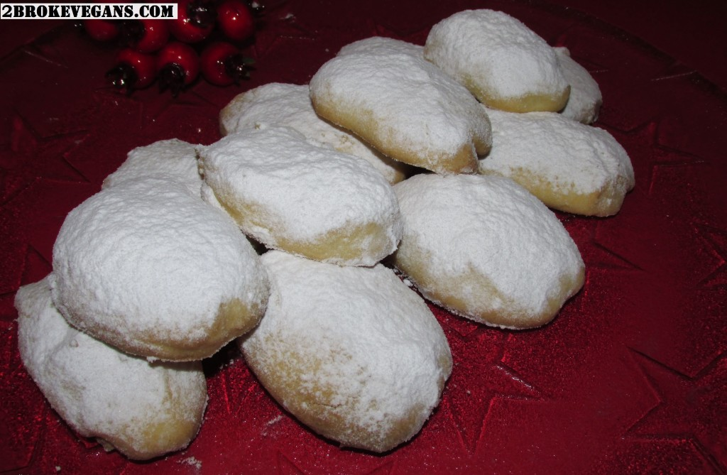 Traditional Greek Christmas Biscuits