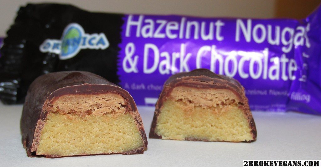Organica Hazelnut Nougat & Dark Chocolate Candy Bar Review