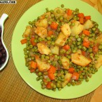 Peas with Carrots and Potatoes