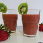 Kiwi Strawberry Smoothie Raw Vegan Gluten Free