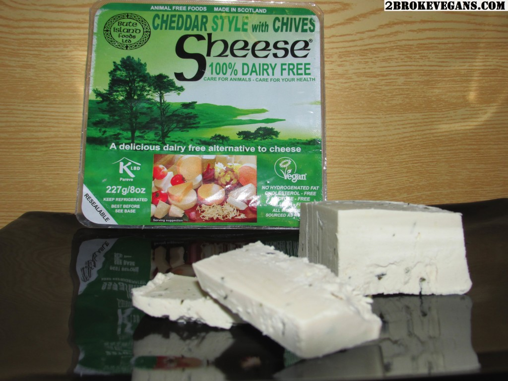 Sheese Cheddar with Chives Product Review