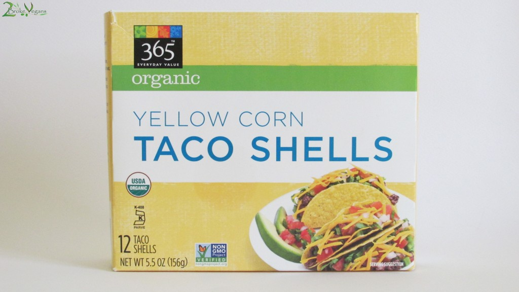 365 Organic Yellow Corn Taco Shells Review