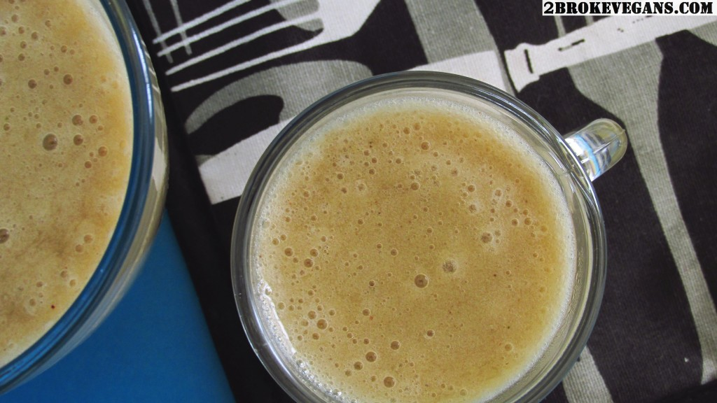 Banana Basil Smoothie Raw Vegan Gluten Free Dairy Free Recipe