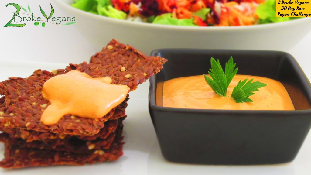 Raw Red Pepper Hummus