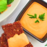 Raw Red Pepper Hummus Recipe
