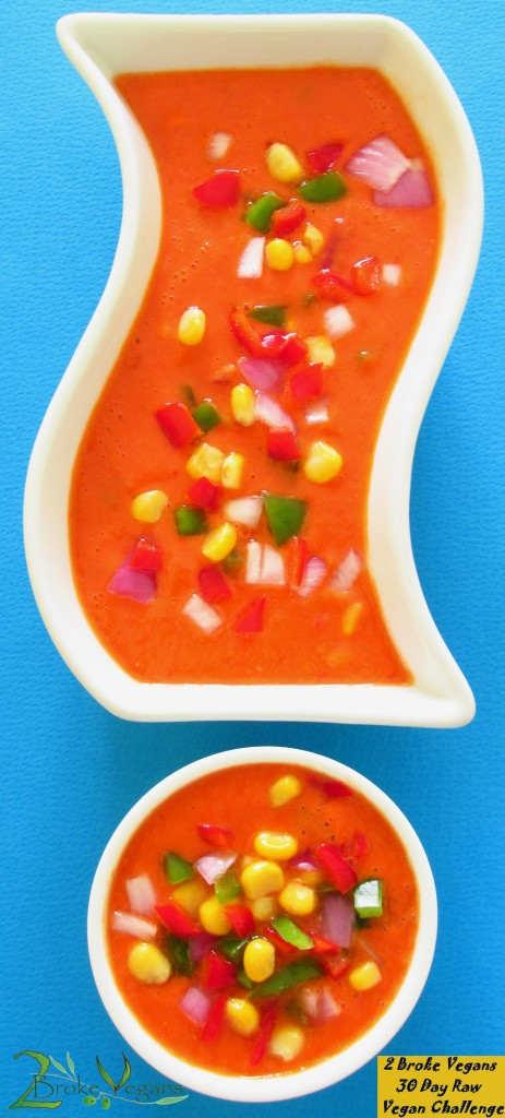 Raw Vegan Tortilla Soup