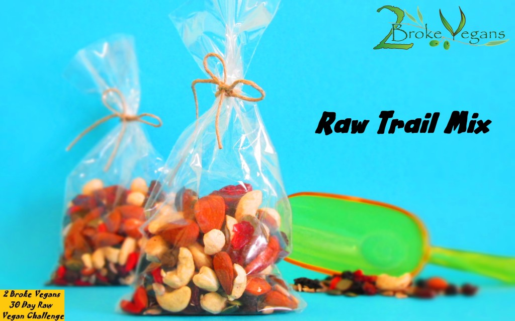 Raw Trail Mix Recipe