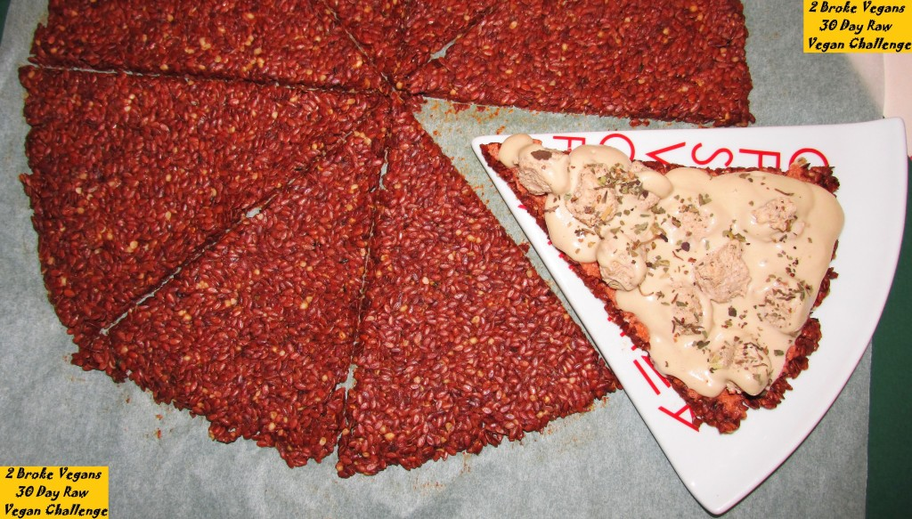 Raw Vegan Italian Sausage Pizza Recipe