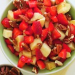 Strawberry Banana Fruit Salad Gluten Free Dairy Free Recipe