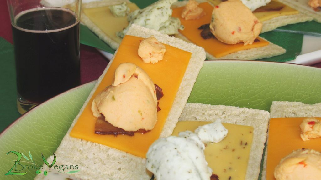 Party Platter with Viofree Vegan Cheeses Viotros Violife Review