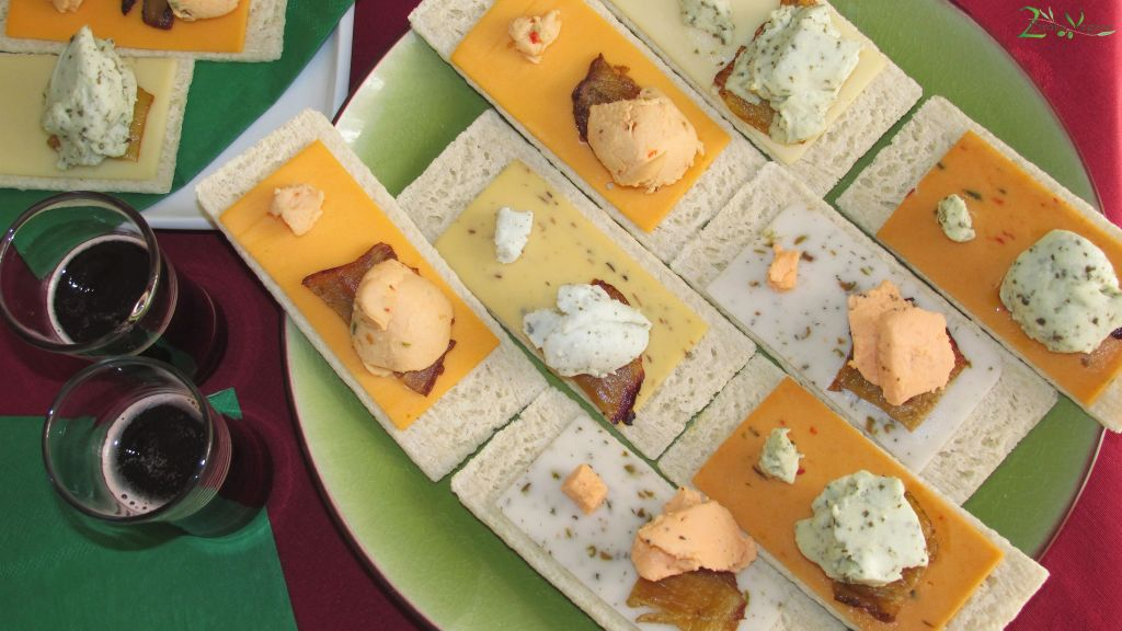 Party Platter with Viofree Vegan Cheeses