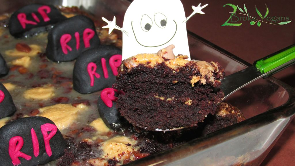 Party in the Graveyard Brownies