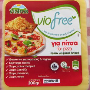 Viotros Violife Viofree Vegan Cheese Block For Pizza
