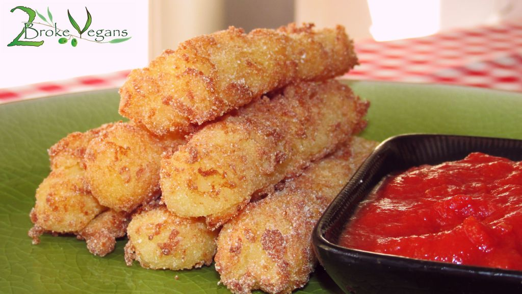 Gluten Free Vegan Mozzarella Sticks Recipe