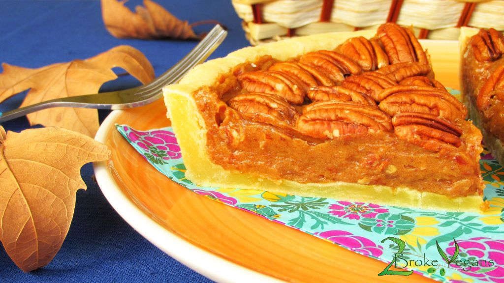 Gluten Free Vegan Pecan Pie Recipe