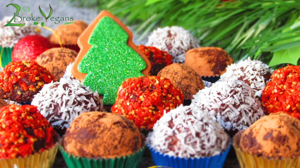 Luscious Raw Chocolate Truffles Vegan Gluten Free Dairy Free Non-GMO Christmas Recipe