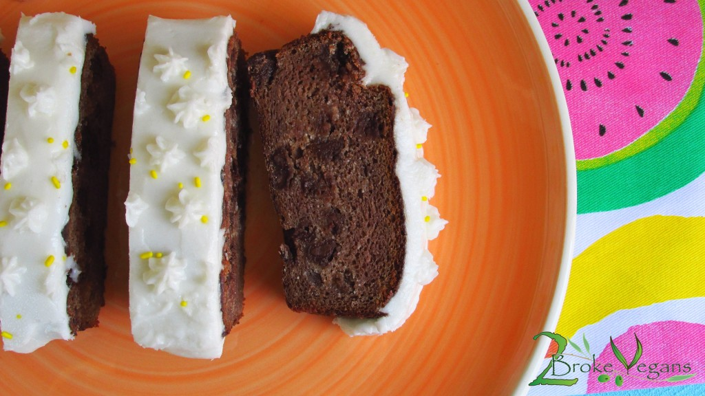 Chocolate Chip Banana Cake Gourmet Gluten Free Vegan Recipe