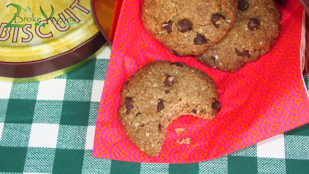 Buckwheat Chocolate Chips Cookies