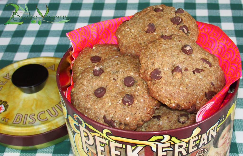 Buckwheat Chocolate Chip Cookies Recipe Lactose Free Vegan Gluten-Free