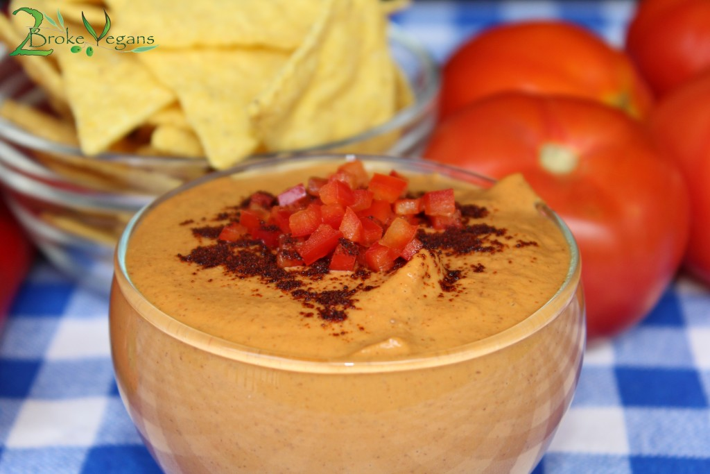 Chipotle BBQ Vegan Cheese Dip Recipe Dairy Free Gluten Free