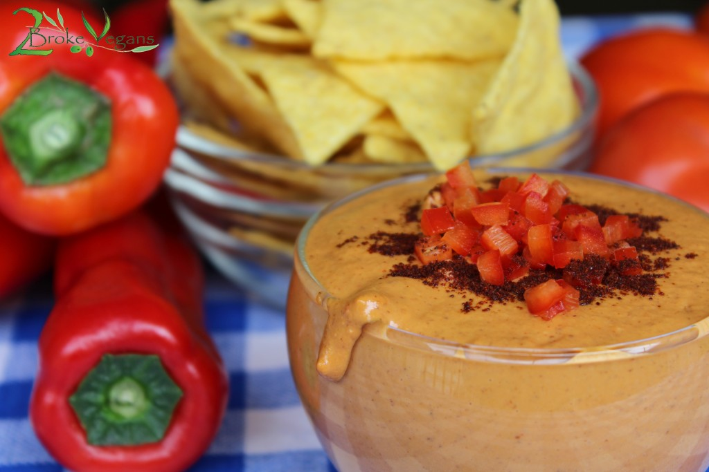 Chipotle BBQ Vegan Cheese Dip Recipe