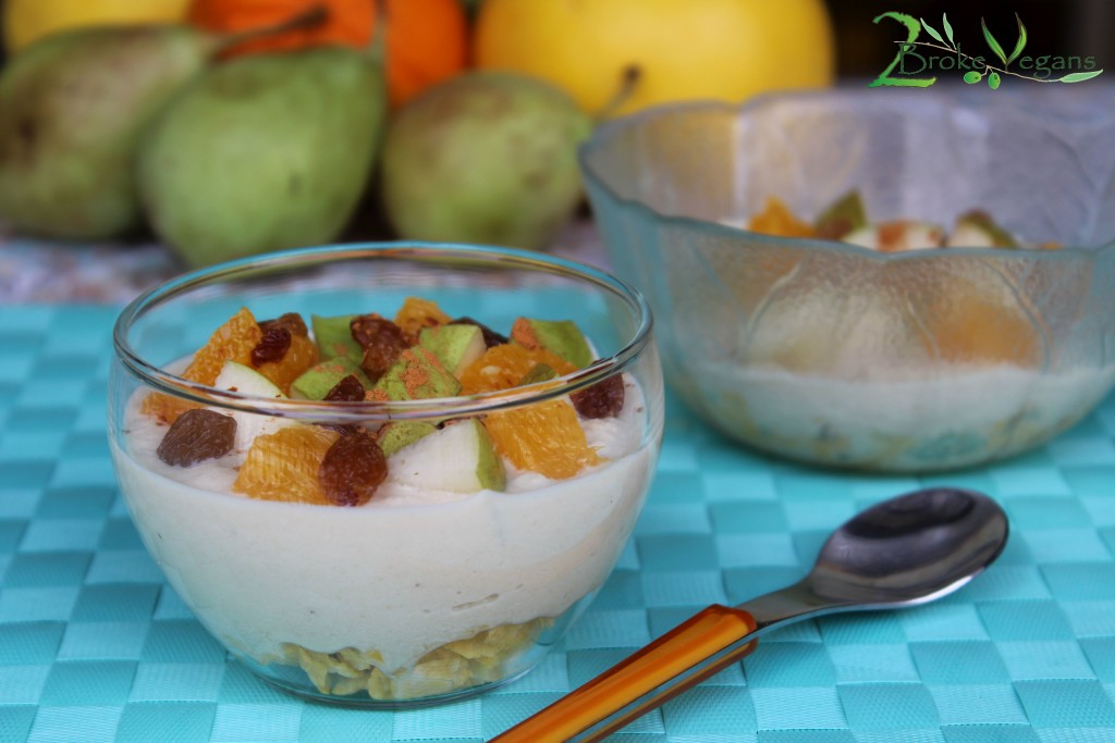 Cashew Cream Fruit Salad Recipe