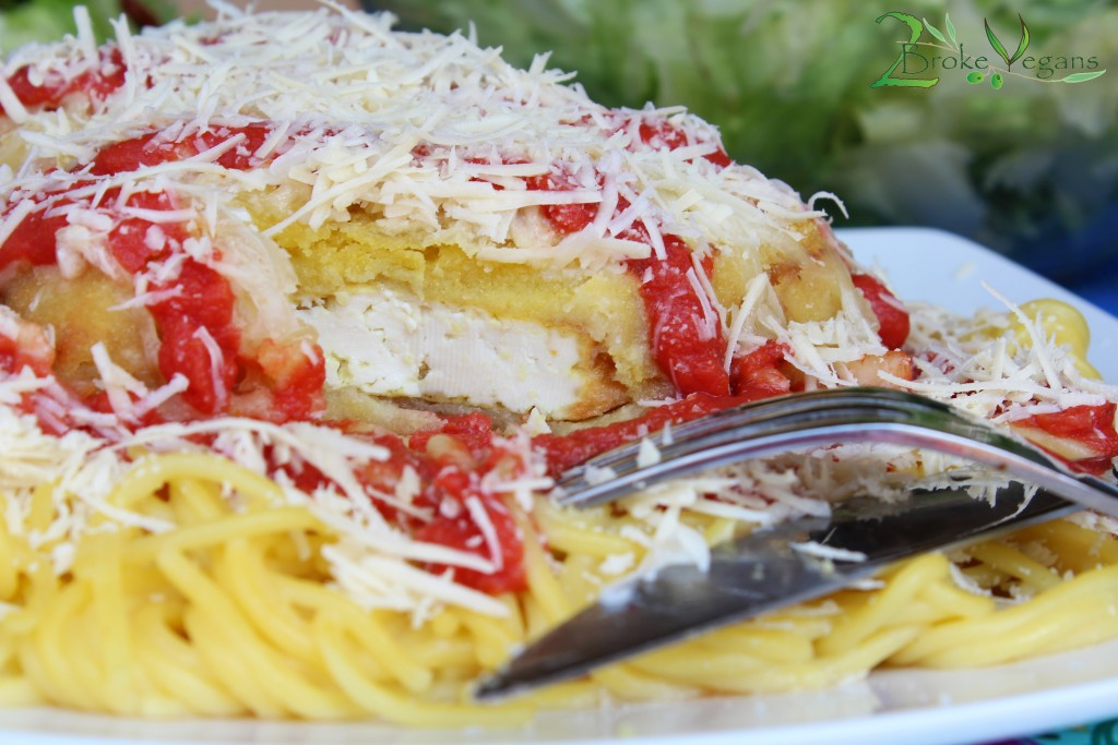 Tofu Parmigiana Recipe — Dishmaps