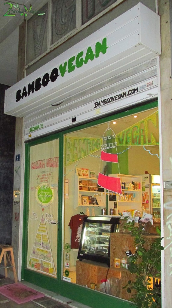 Bamboo Vegan in Athens, Greece