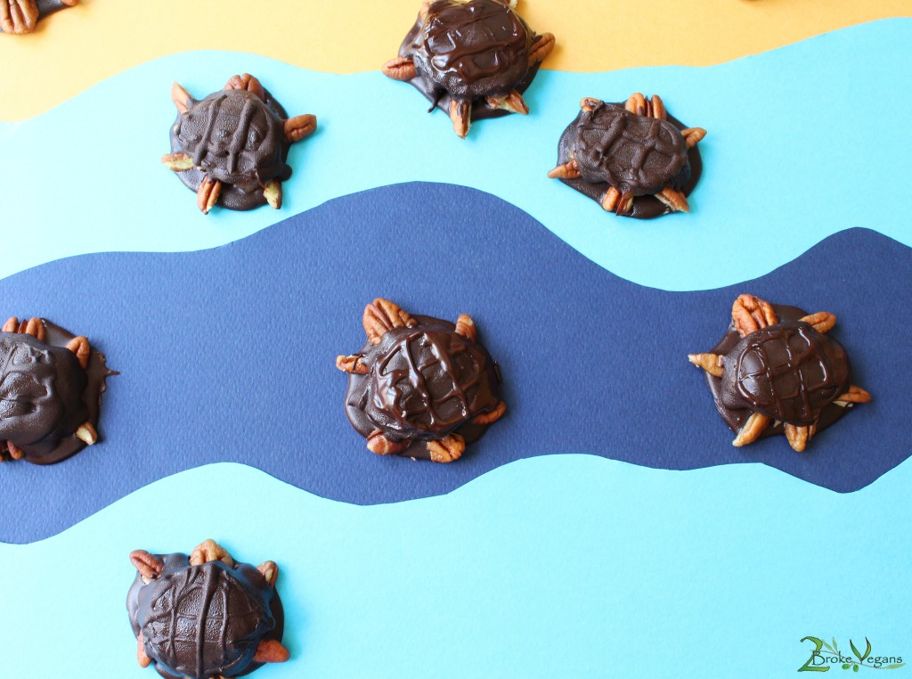 Vegan Chocolate Turtles Dairy Free Gluten Free Recipe Dessert