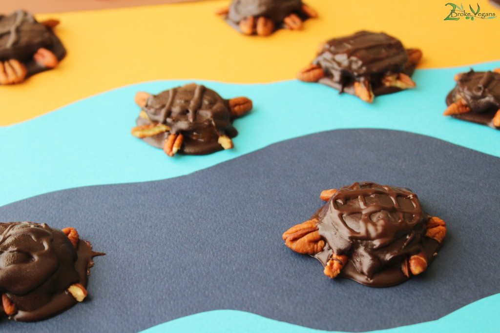 Vegan Turtles Recipe Gluten Free Dairy Free Chocolate