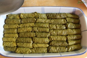 Greek Stuffed Vine Leaves - Dolmadakia