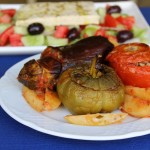 Yemista - Greek Stuffed Vegetables