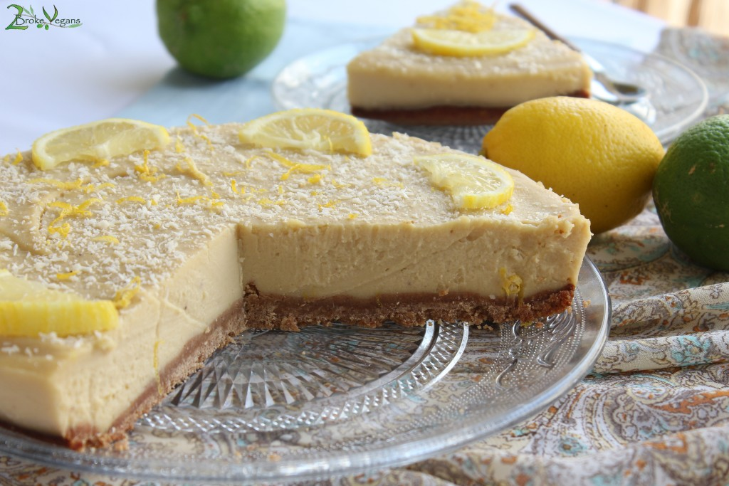 Vegan Lemon Pie