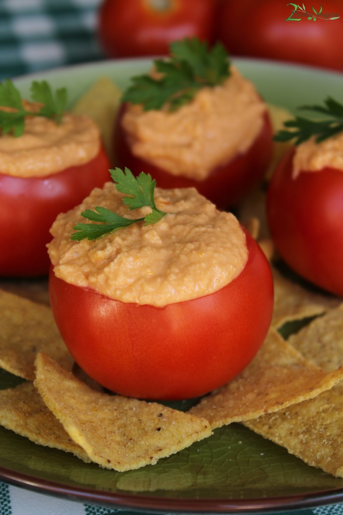 Tomato and Basil Vegan Cheese Recipe Dairy Free Nut Free Soy Free Dip